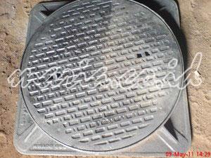 manhole cover proyek sanitasi lingkungan