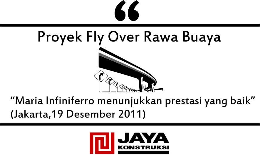 Testimoni fly over rawa buaya