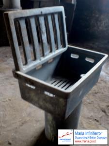 deck drain cast iron