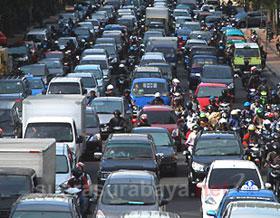 kemacetan jawa timur