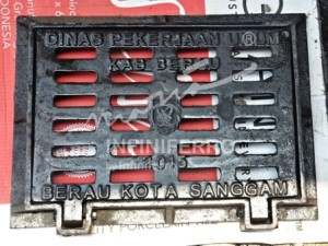 grill cast iron tangkapan air