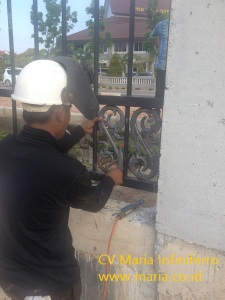 Proyek pagar pemko Batam