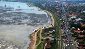 Deck drain Tol Porong-Gempol