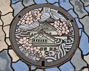 Desain Manhole Cover Jepang