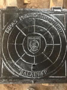 Manhole cover PU Balangan