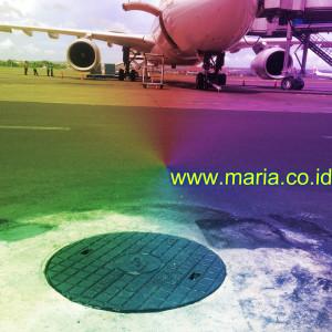 manhole cover apron bandara ngurah rai