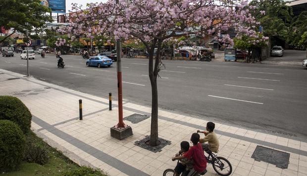 Pedestrian Jalan Embong Malang, Surabaya