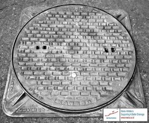 manhole cover bulat Diameter 600