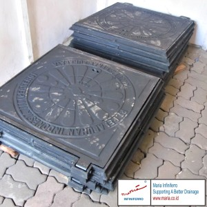 Manhole Cover dengan Desain Khusus