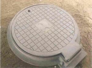 Gambar pola pembuatan manhole cover