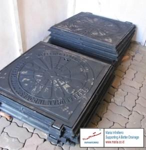 Manhole cover kotak 80