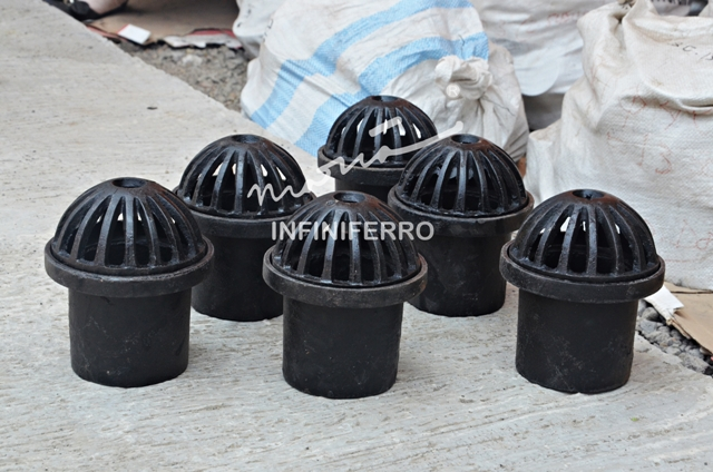 Roof drain mini cast iron