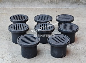 Floor drain mini cast iron