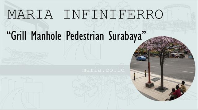 proyek grill manhole pedestrian surabaya