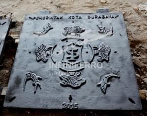 Grill Manhole Jl Embong Malang