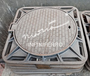 loading test manhole cover MRT
