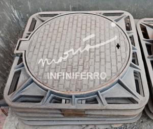 Manhole cover cast iron untuk proyek MRT Jakarta