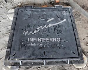 Grill manhole cover cast iron pedestrian Surabaya