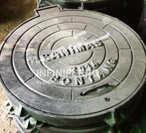 Manhole Cover Sanimas Bontang