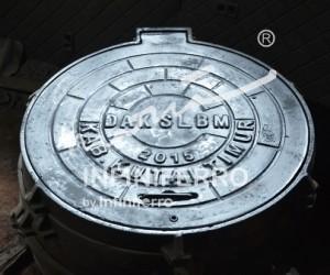 Grill manhole SLBM Kutai Timur