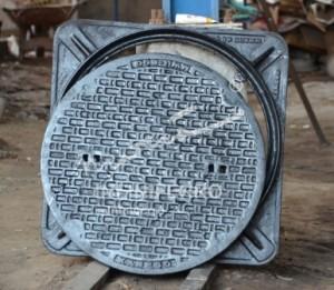 tutup manhole cast iron