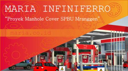 proyek manhole cover spbu