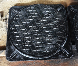 manhole cover motif wajik