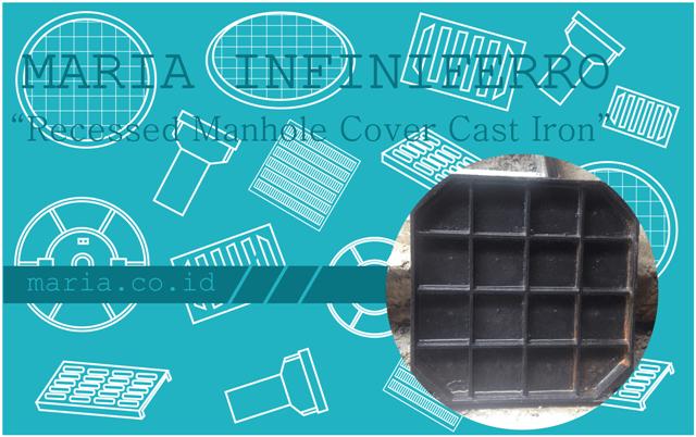Recessed Manhole Cover Cast Iron