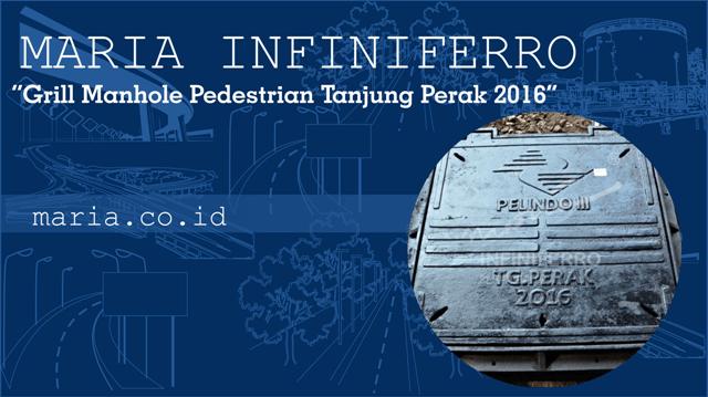 Grill Manhole Pedestrian Tanjung Perak