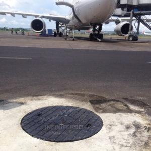 Manhole cover cast iron heavy duty bandara