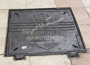 grill manhole pedestrian tanjung perak terpasang