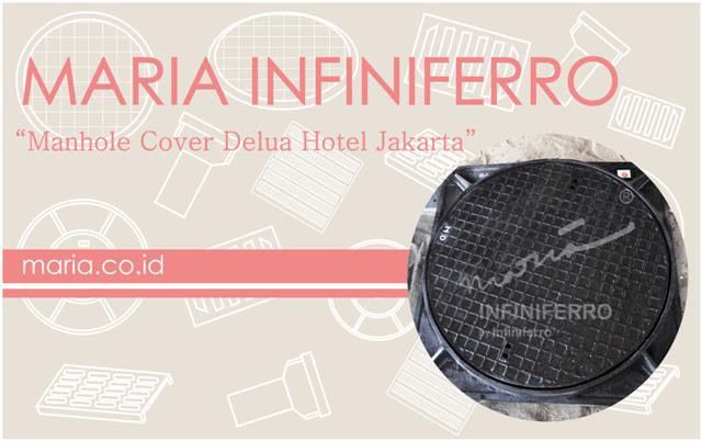 Manhole Cover Delua Hotel Jakarta