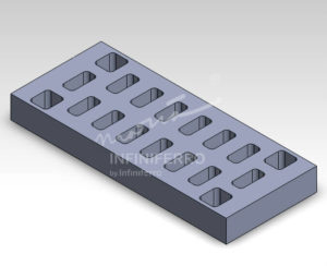 grill bandara motif kotak PT. Infiniferro Niaga Manufaktur