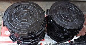 manhole cover bulat SLBM Balikpapan