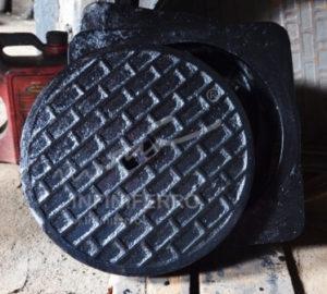 manhole cover bulat diameter 30