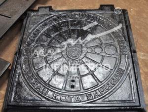 manhole cover kotak berau