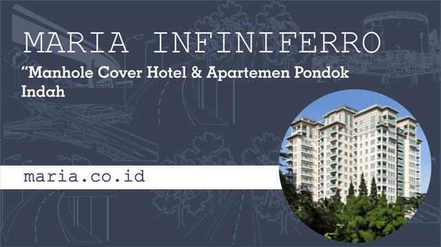 Manhole Cover Hotel dan Apartemen Pondok Indah
