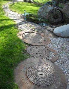 aplikasi manhole cover selain drainase