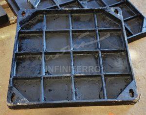 manhole cover recessed cast iron