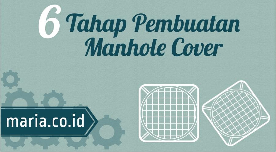 6 tahap pembuatan manhole cover cast iron