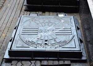 Manhole Cover Trotoar Nganjuk