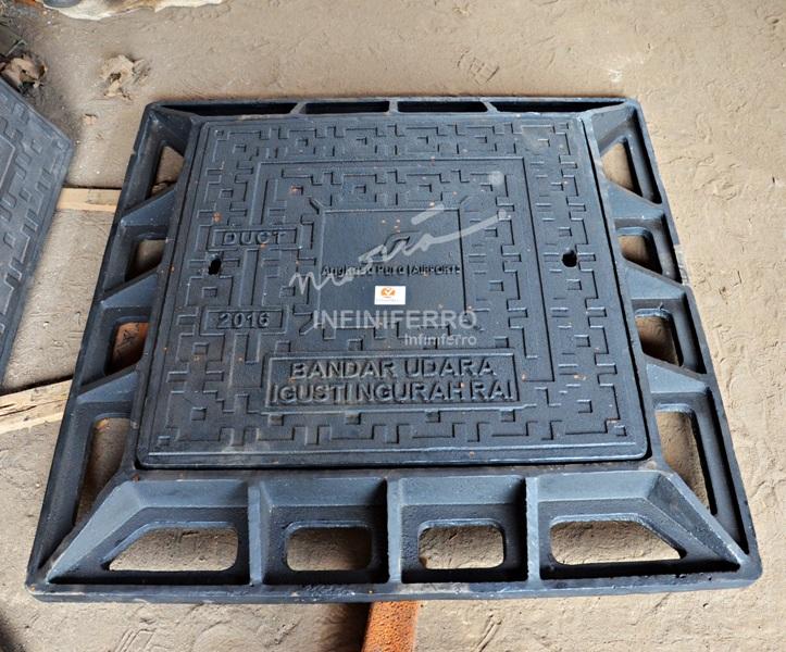 manhole cover cast iron bandara ngurah rai