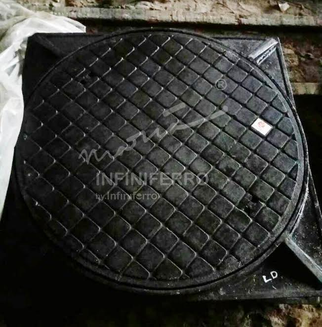 manhole cover cast iron Asahimas Power Plant