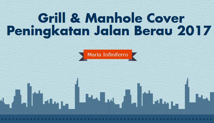 Grill manhole cover berau 2017