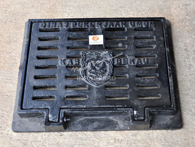 grill tangkapan air berau