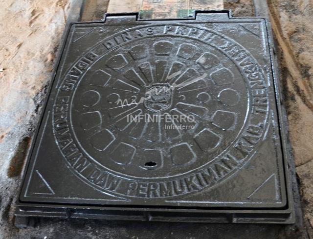 manhole cover pembangunan kota cantik watulimo