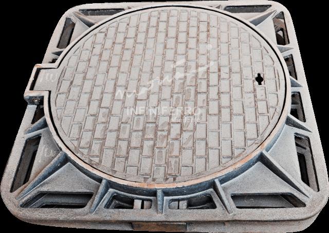 Manhole Cover MRT Jakarta
