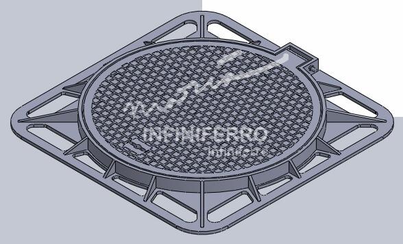 desain manhole cover mrt